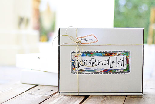 DIY Journal Kit from Lil Blue Boo