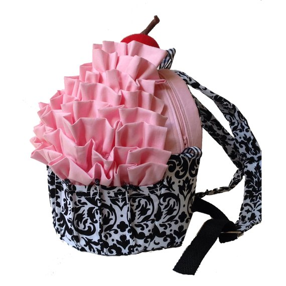 Cupcake Backpack Pattern from CozyNestDesign