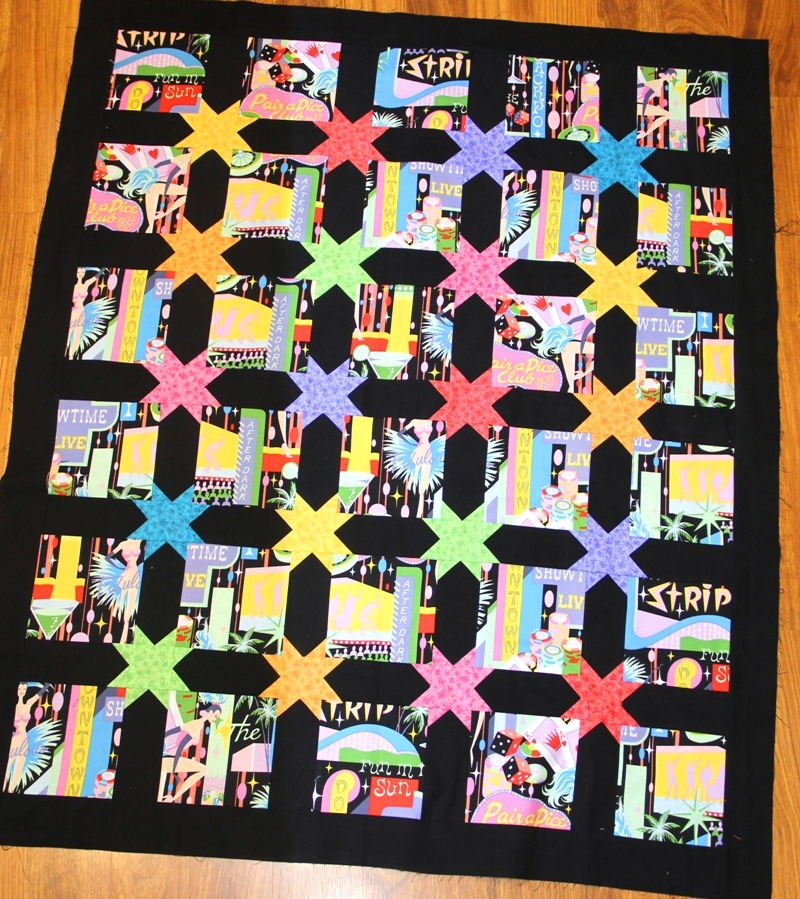 Vegas quilt from craftystaci.com