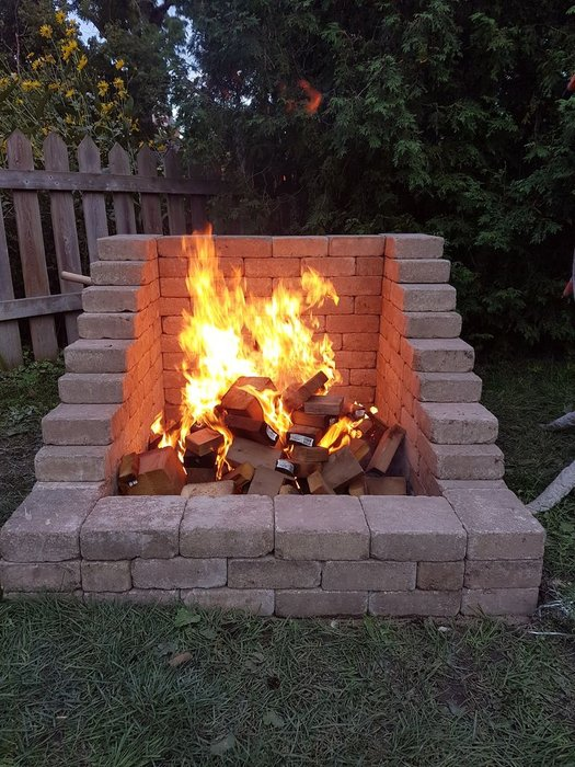 DIY Fireplace Pit from DIY Academy