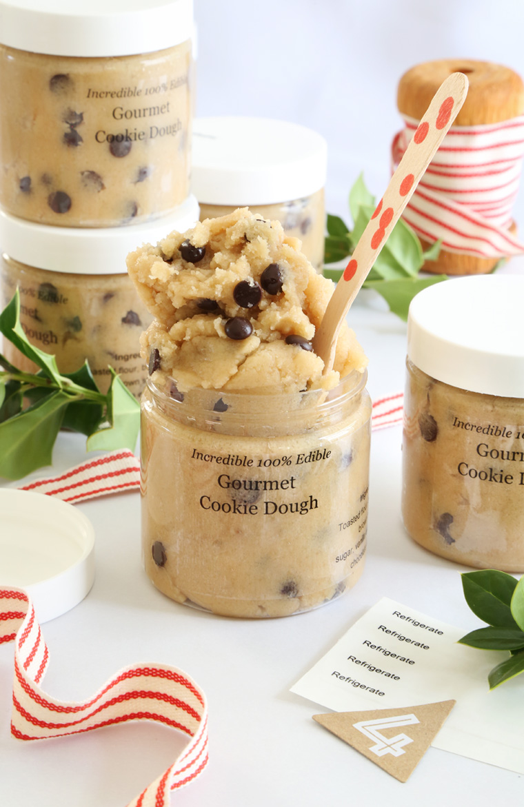 Gourmet Edible Cookie Dough from Sprinkle Bakes