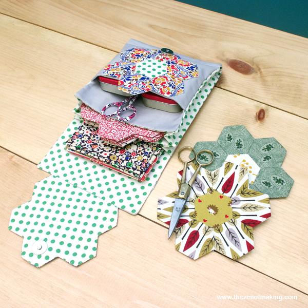 English Paper Piecing Travel Kit from Red Handled Scissors