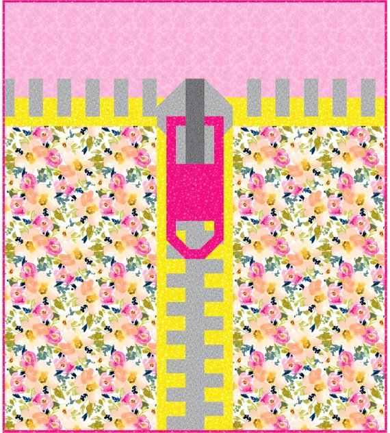 Zipper Quilt Pattern from SewFreshQuilts