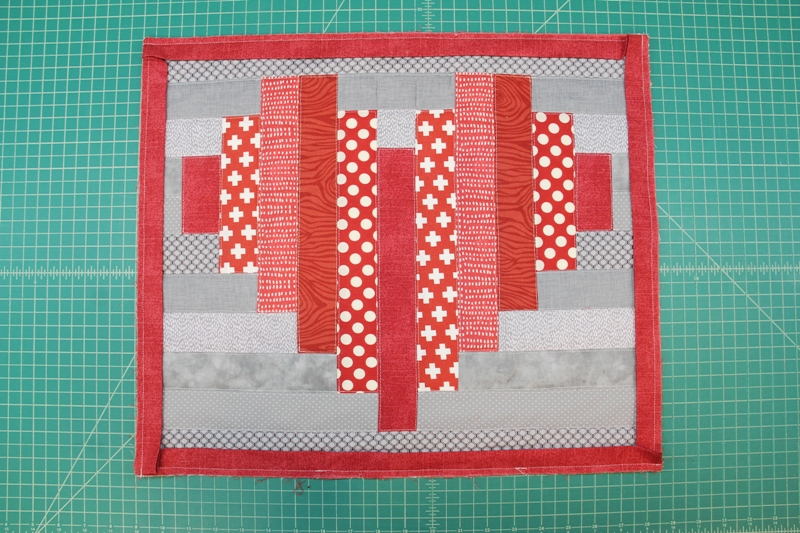Sewing on binding
