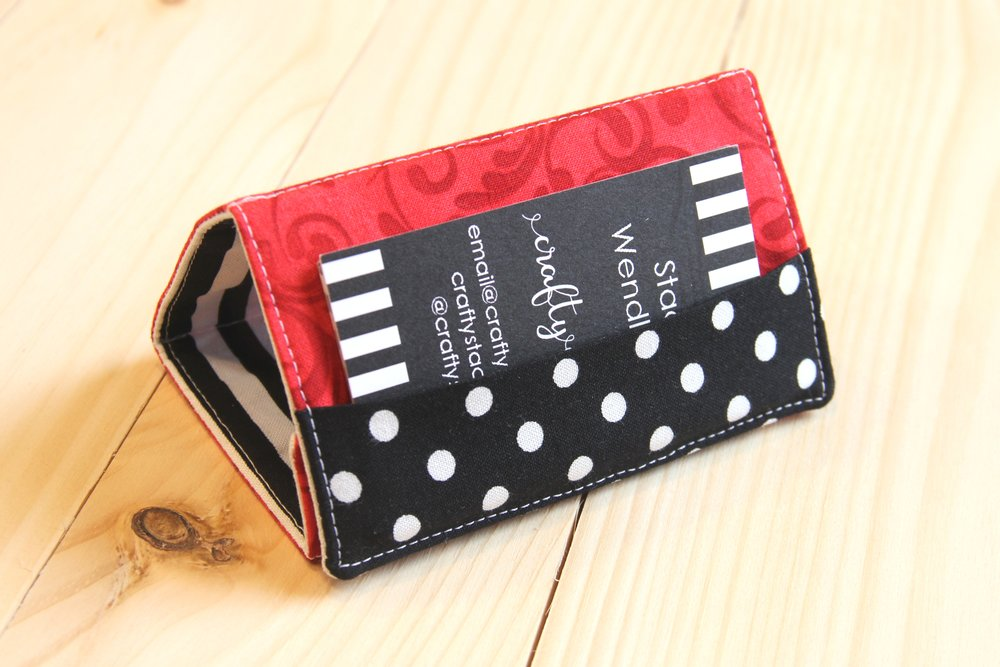 Standing Business Card Holder from Crafty Staci