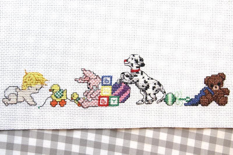 Baby cross stitch by Crafty Staci