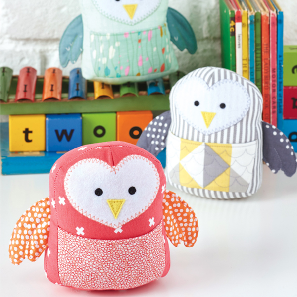 Owl Softies from Love Patchwork and Quilting
