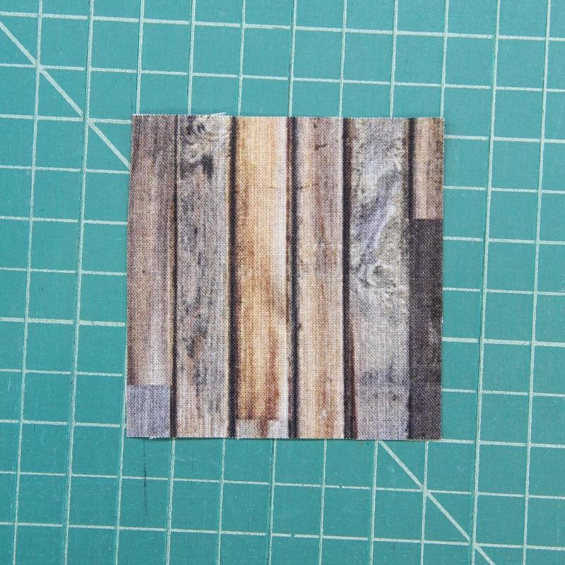 wood grain square