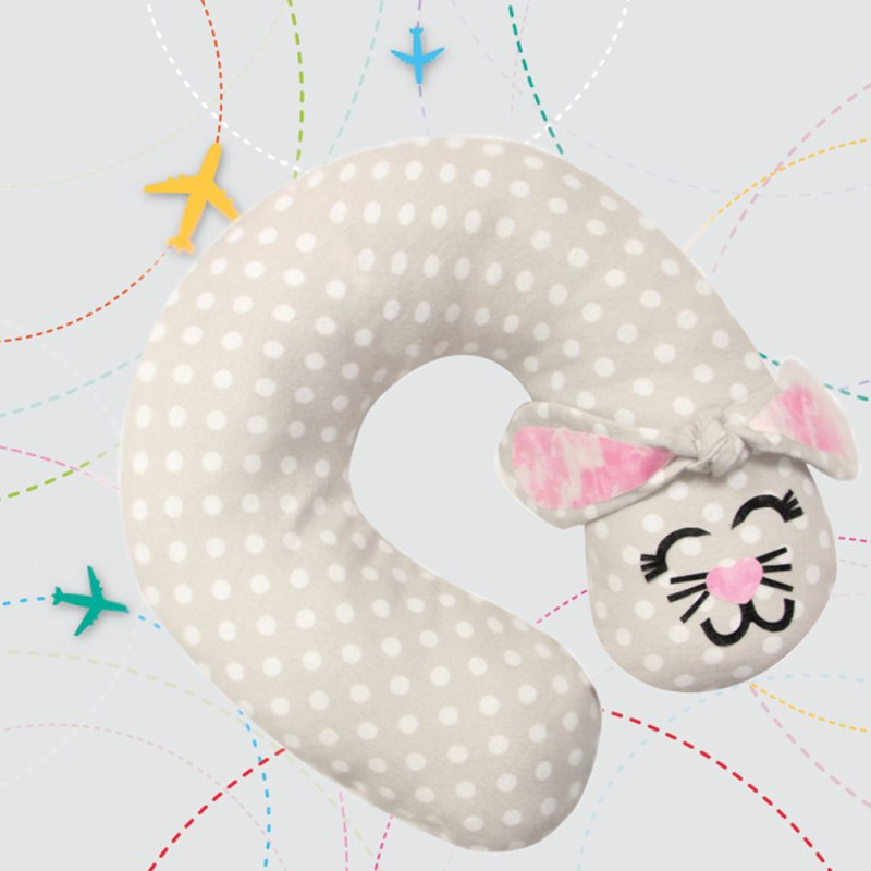 Bunny Travel Pillow from Cup of Sugar