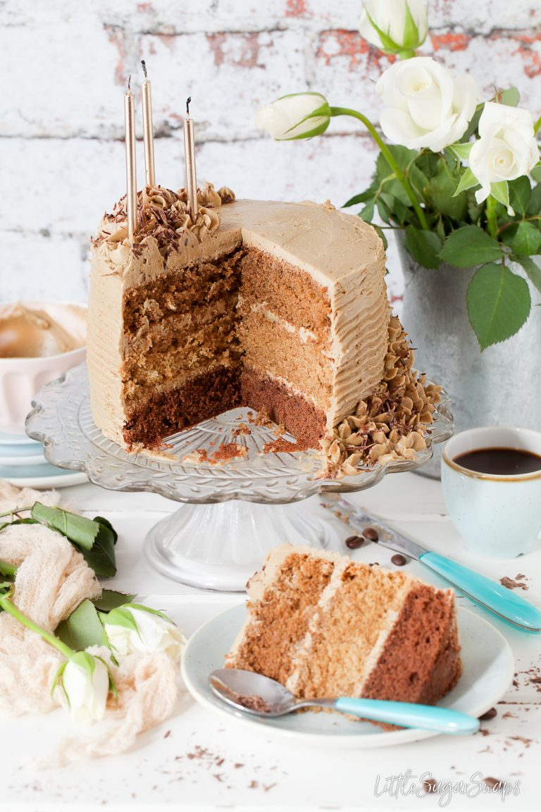 Triple Layer Coffee Cake from Little Sugar Snaps