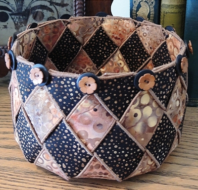 Woven Spirals Bowl Sewing Pattern from Annie's Craft Store
