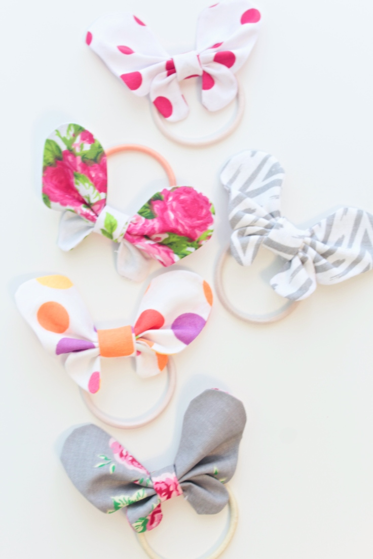 Butterfly Hair Bows from Easy Peasy Creative