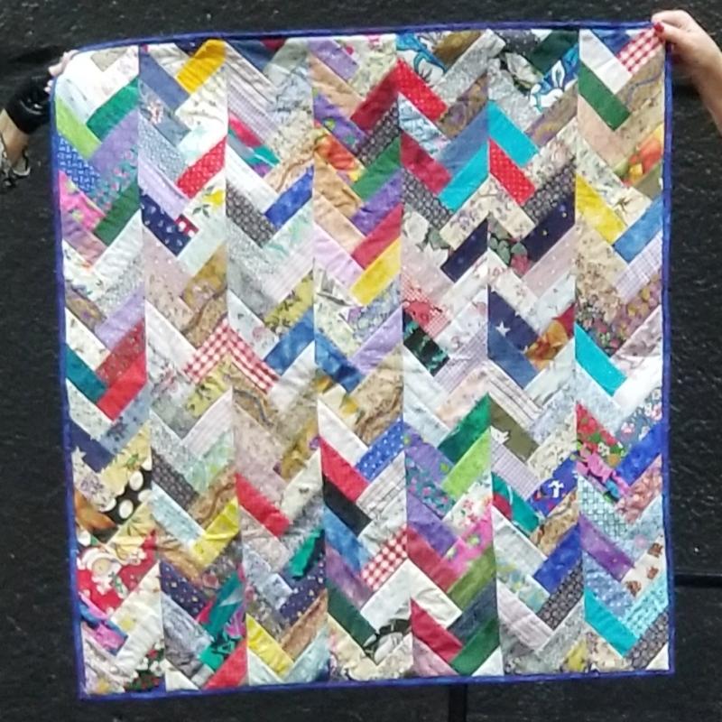 Virginia's Baby Box Quilt