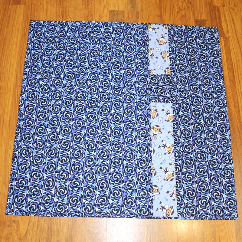 Baby Box quilt back