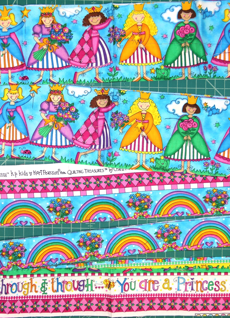 Princess fabrics