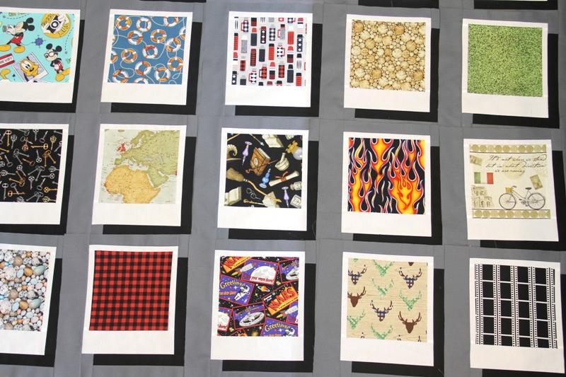 Photo quilt blocks