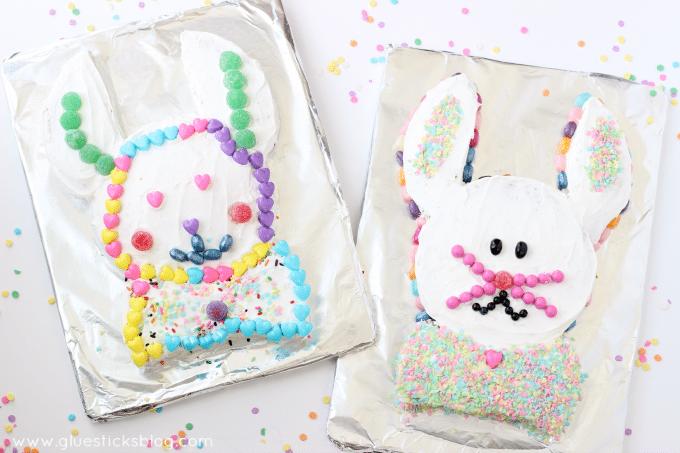 Easter Bunny Cake from Gluesticks