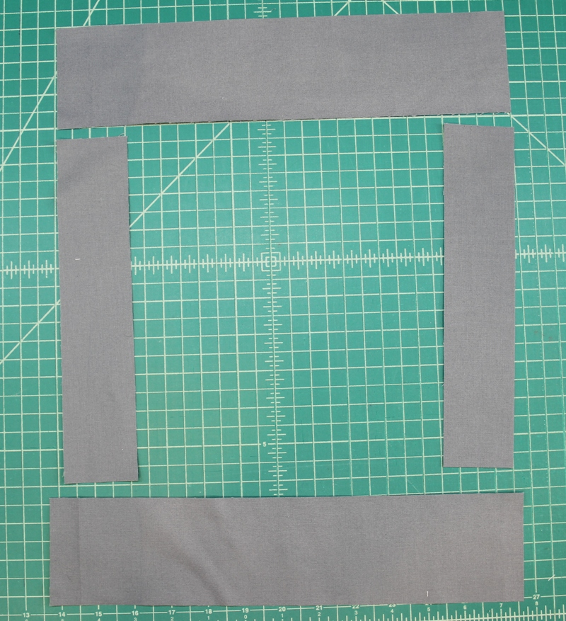 Cut out all E pieces