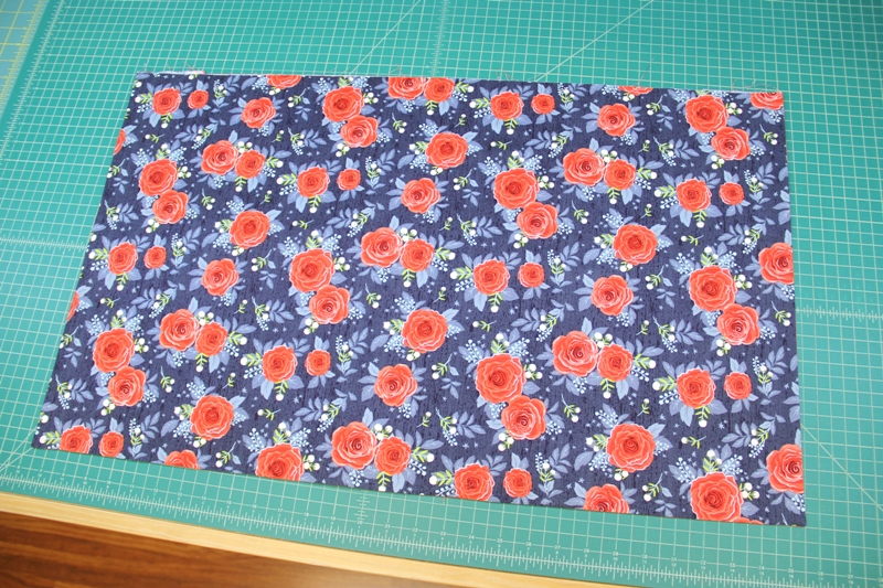 Two sides of skirt sewn together on apron with secret pockets