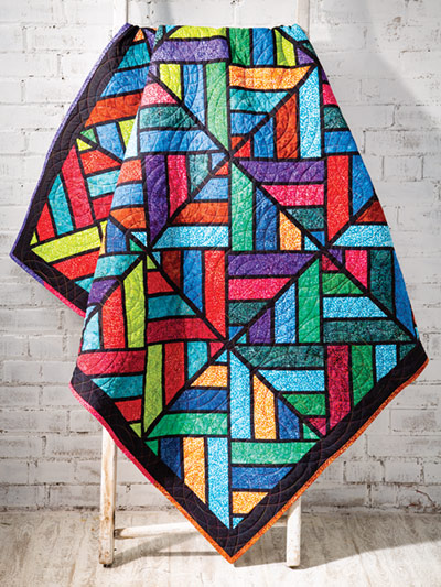 Tessellating Diamonds Quilt from Annie's Craft Store