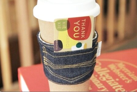 New Jeans Coffee Sleeve - Crafty Staci 12