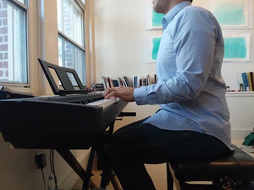 too close to the piano