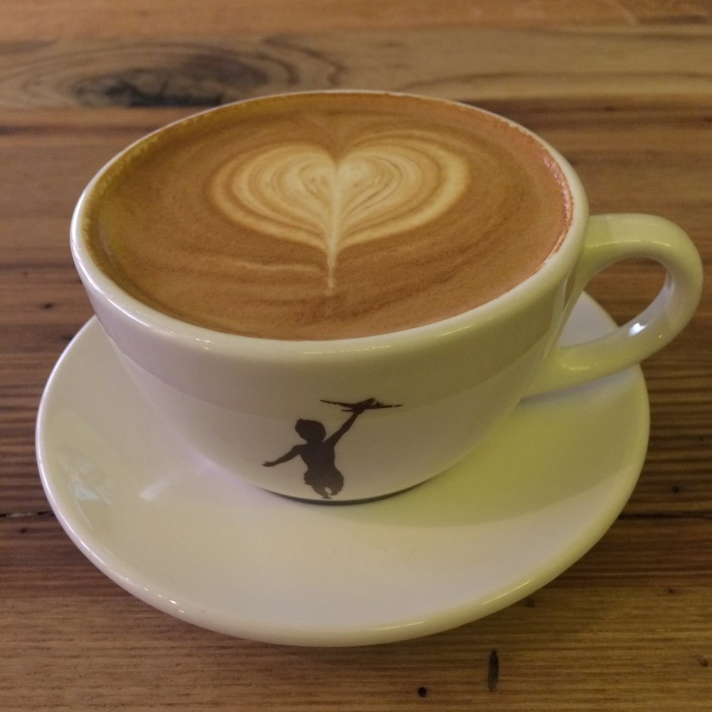 The end result: a perfect cup of coffee, complete with that feel-good heart to make you smile.