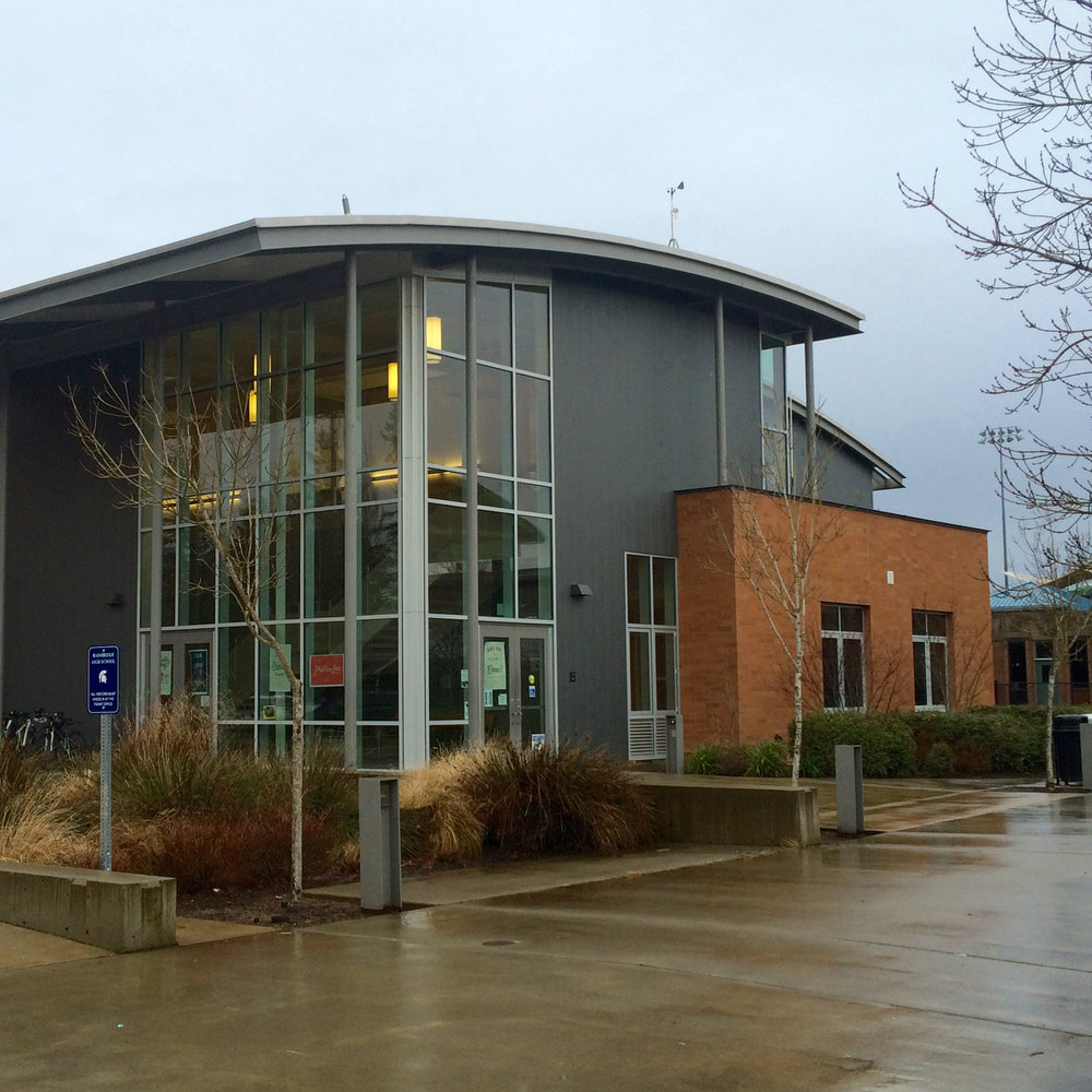 Bainbridge high school, bainbridge island