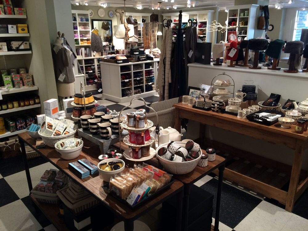 This shop is so warm and cozy, you'll happily linger for awhile.
