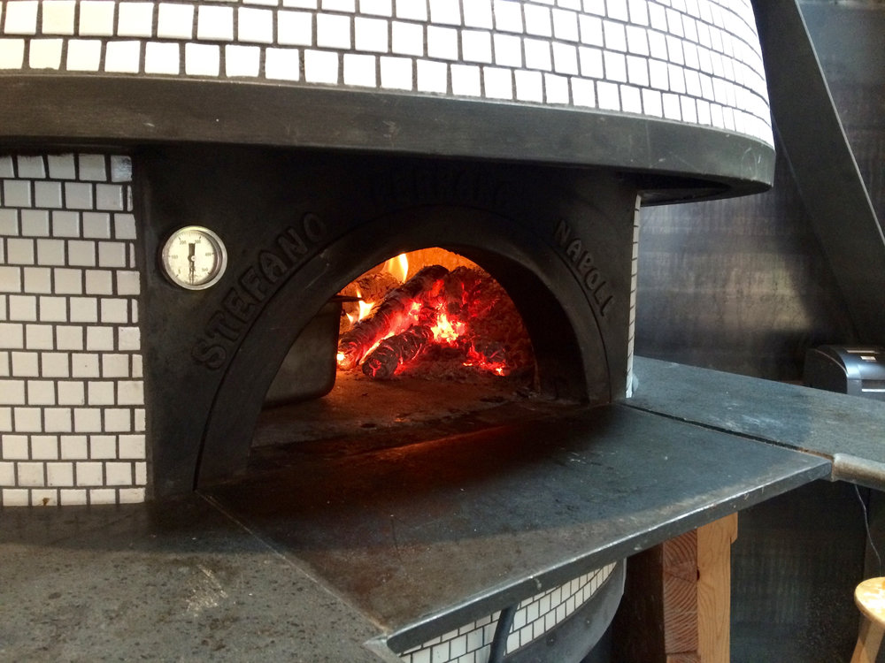 Hot, hot, hot and the only way to make authentic Neapolitan pizza.