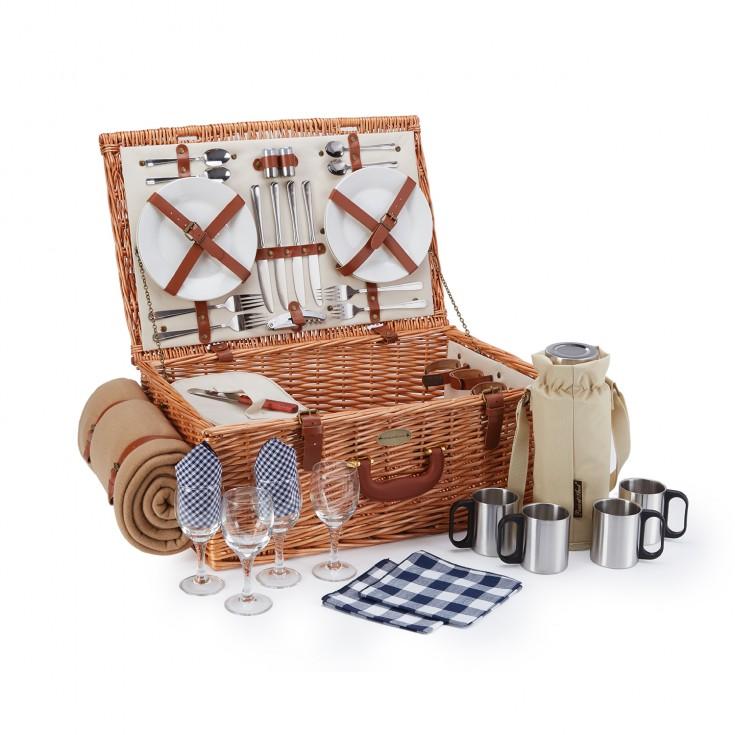 Huntsman Picnic Basket & Coffee Set