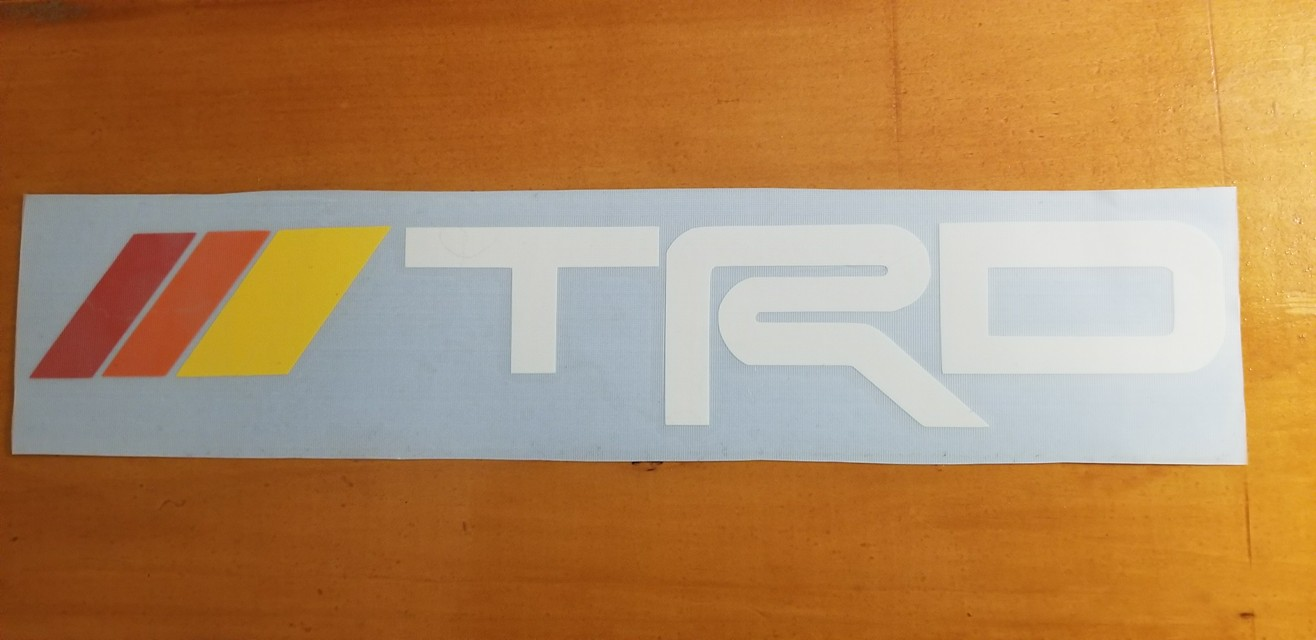 Trd Decal With Vintage Colors Overland Swag
