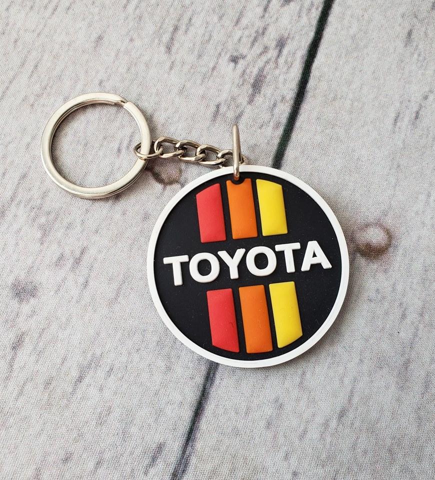 Vehicle Parts & Accessories Vintage Toyota Keyring Keyrings & Keyfobs