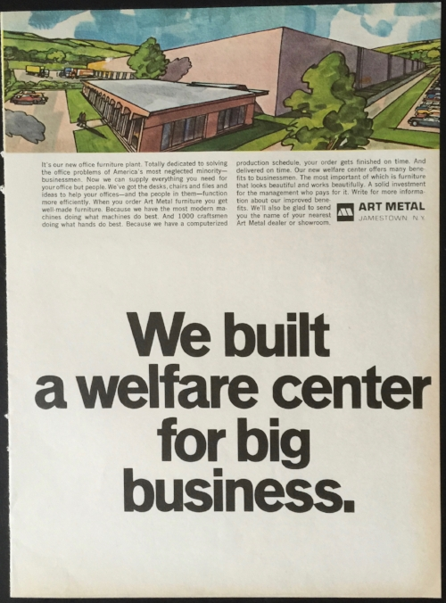 The image on the flip side of the IBM ad above. Really. Source: my personal collection.