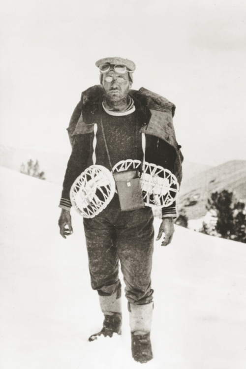 Latin scholar and pioneering snow surveyor James Church. Image courtesy of the  National Water and Climate Center , USDA.
