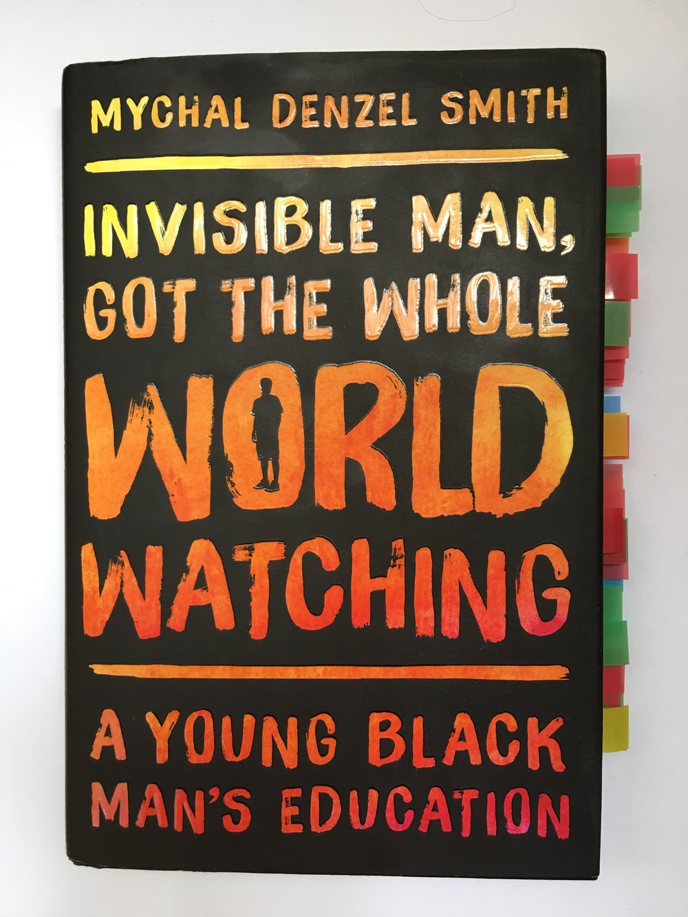 Invisible Man Got The Whole World Watching Cover Photo by Black & Bookish