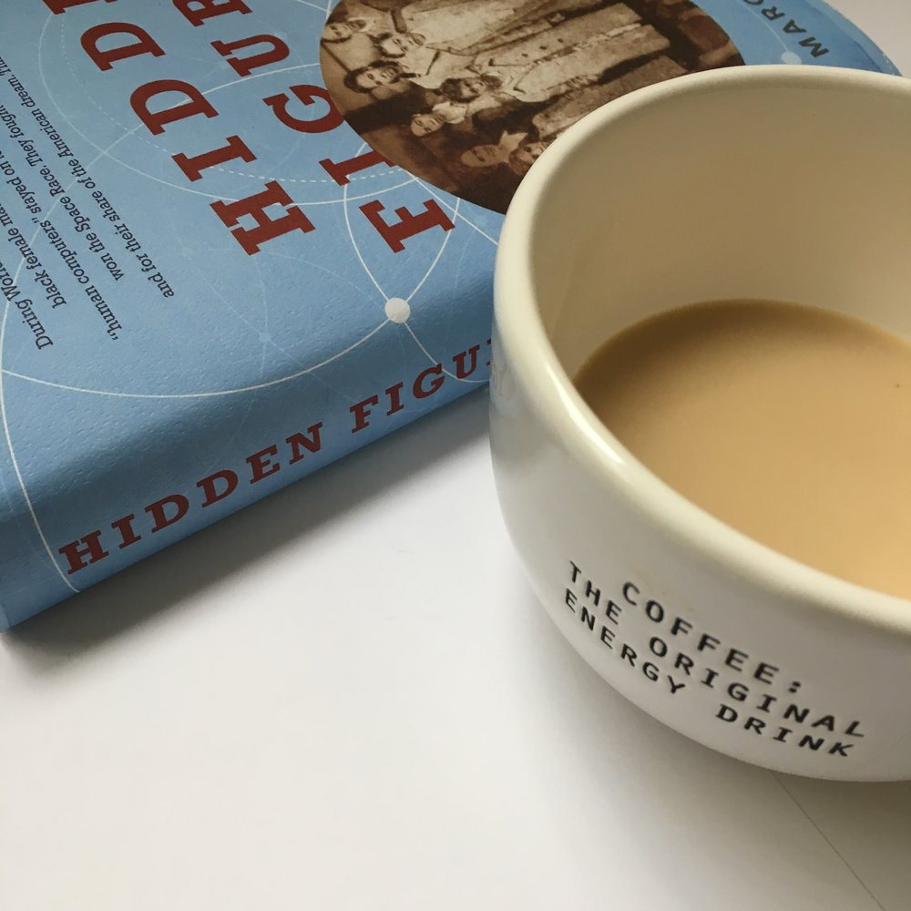 Hidden Figures Book Cover Photographed by Black & Bookish.JPG