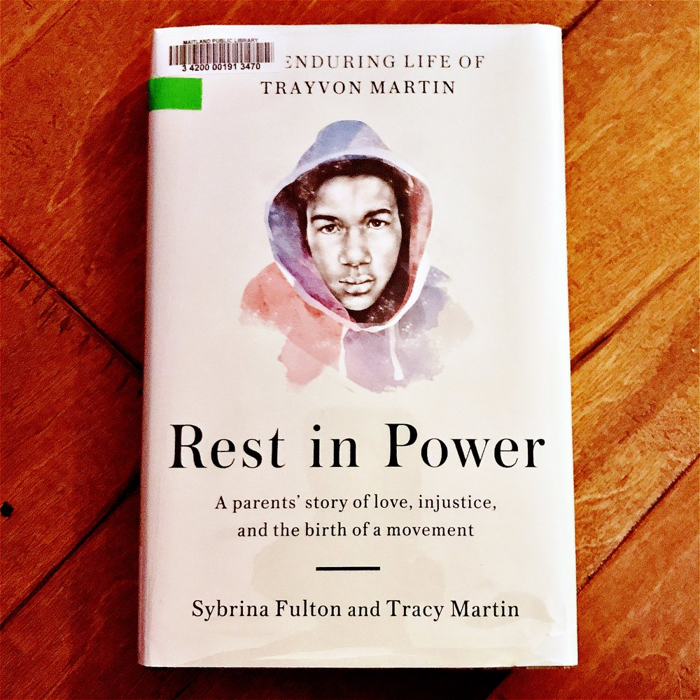 Rest in Power cover taken by Black & Bookish
