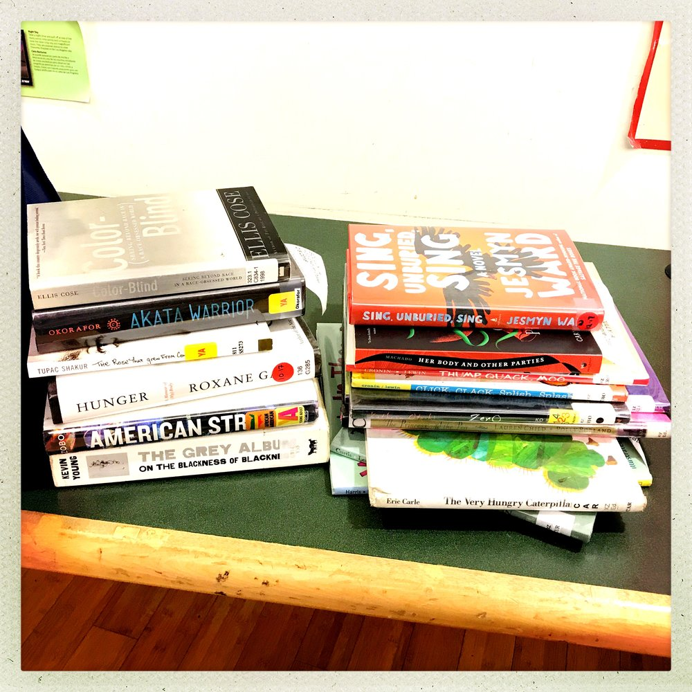 Library piles