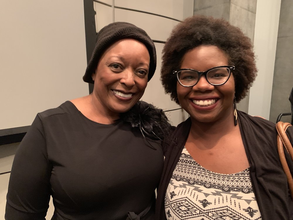 L. Scott Caldwell and Antoinette Scully at the Barracoon: A Tribute to Zora Neale Hurston