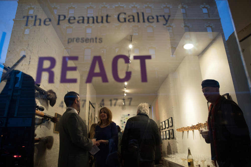 Opening Reception for REACT