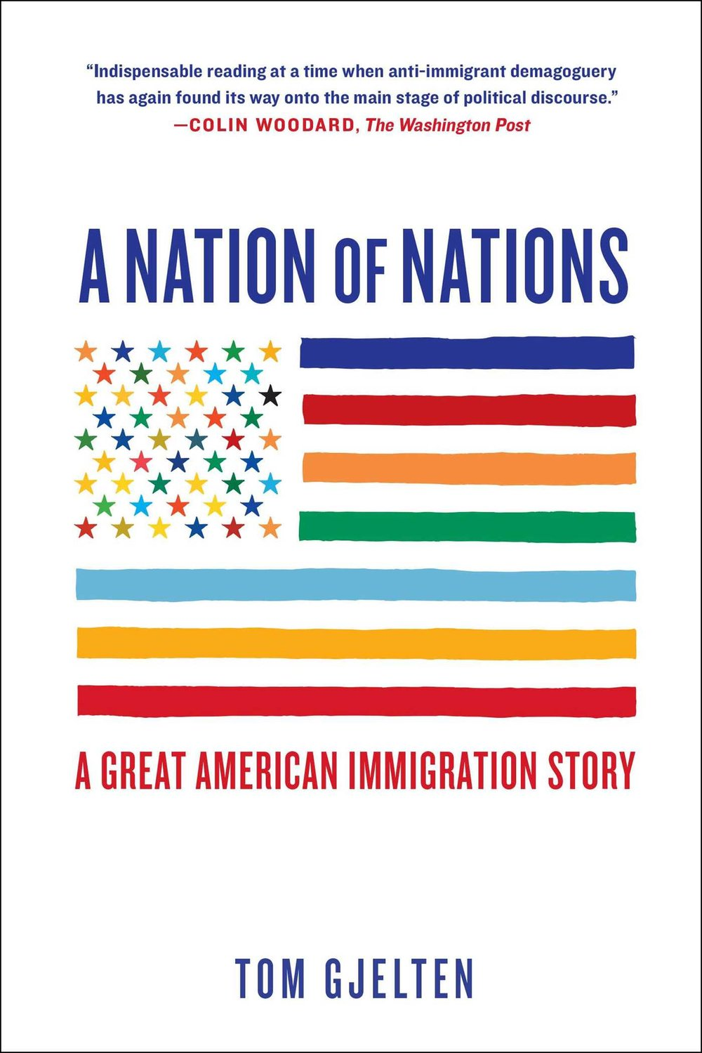 "Tom Gjelten, our keynote speaker wrote ""Nation of Nations,"" which was also our January book read."