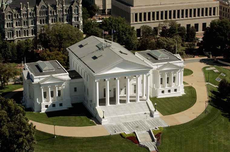 The Virginia State Capitol, in Richmond.