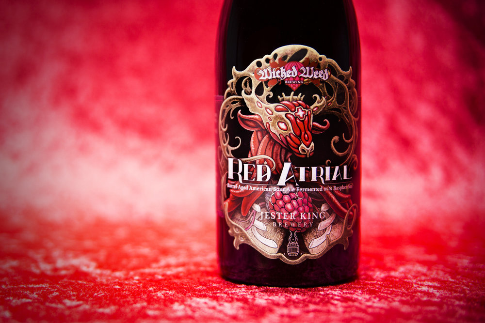 Wicked Weed & Jester King collaboration - Red Atrial