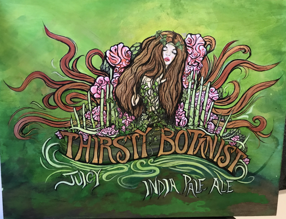 Limited run of this IPA, a collaborative brew for the  Coastal Maine Botanical Gardens .. releases mid-June (2017)!
