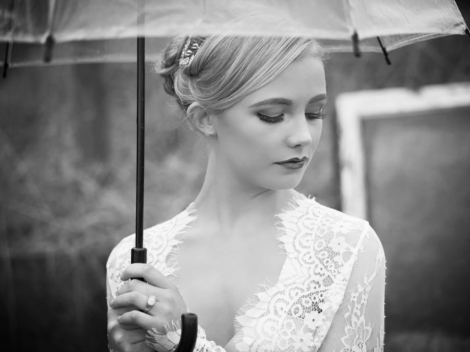 Rainy Day Wedding Bridal