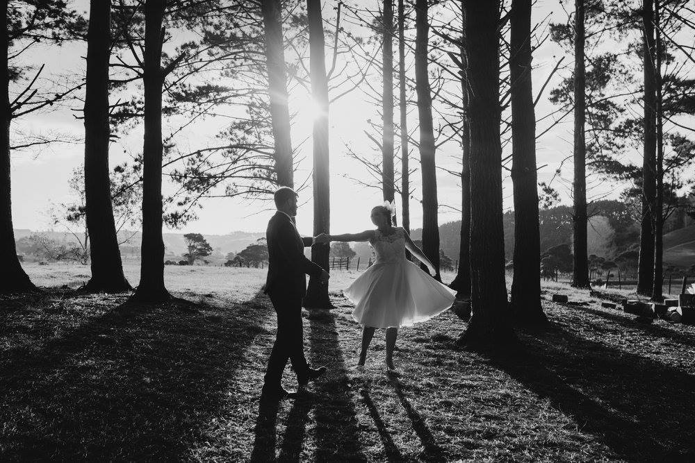 DAVID & SARA  Nestled in the hills of Rodney, Sara and David devoted their nuptials to each other at the raw west coast beach Muriwai.