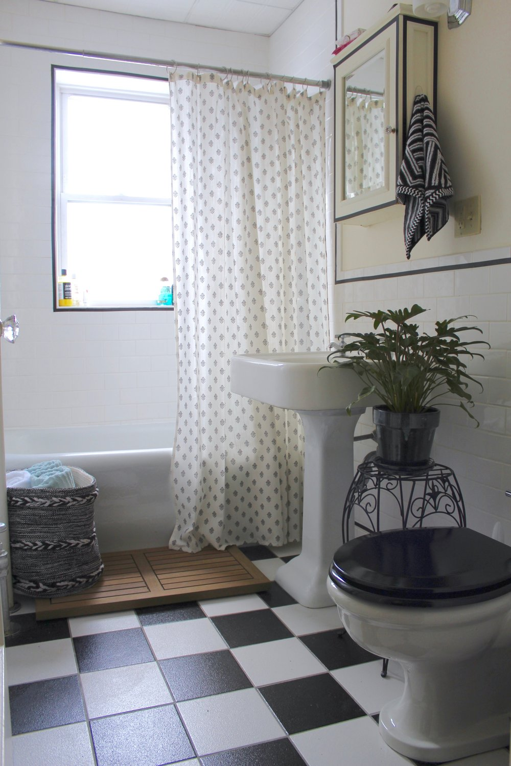 Rental Bathroom Redo — 54 Mazarine