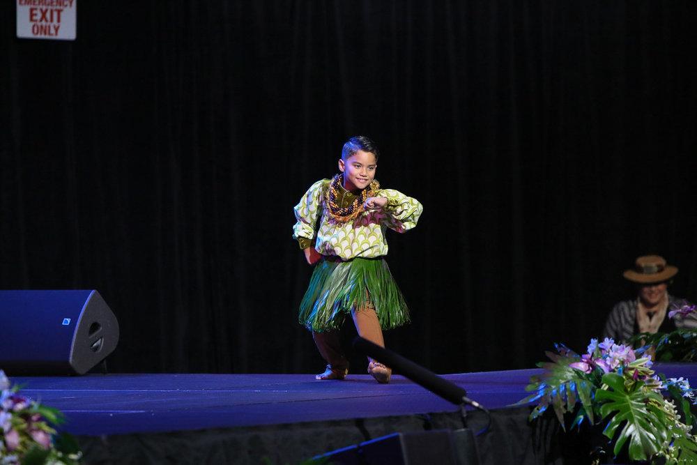 2018 | 5th place master keiki hula   enaahi dalire
