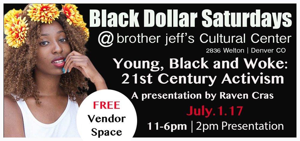 Raven Cras: Black Dollar Saturdays